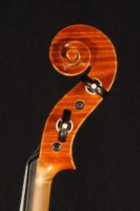 Schnecke Stradivari - Violine Bernd Ellinger 2014