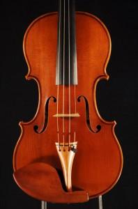 Decke - Violine 2012 - Ellinger Geigenbau