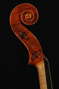 Schnecke - Violine 2012 - Ellinger Geigenbau