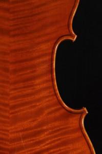 Detail - Violine 2012 - Ellinger Geigenbau